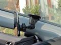Autohalterung - Im Auto - Von der Seite