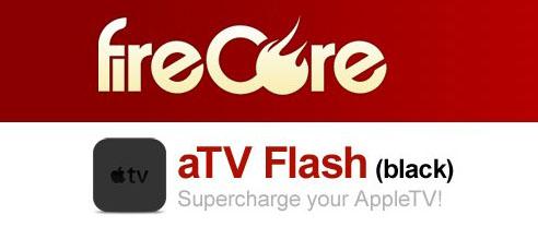 AppleTV - fireCore Logo