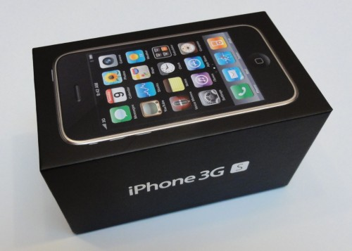 iPhone 3GS - Verpackung 1