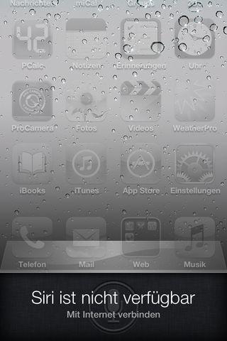 Siri - Nicht verfügbar