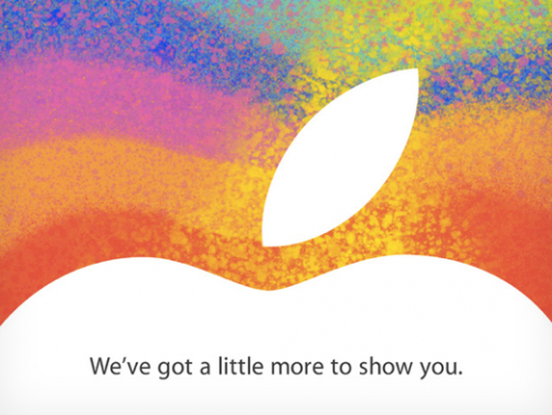 Apple Keynote Banner Oktober 2012