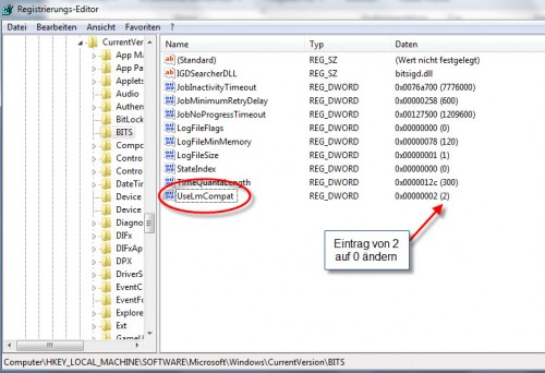 VS2012 - Registry Entry