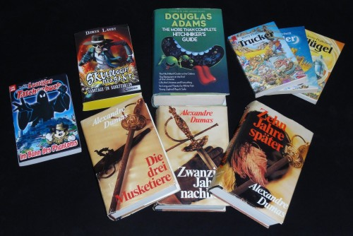 Buchstöckchen - Mein Bücher