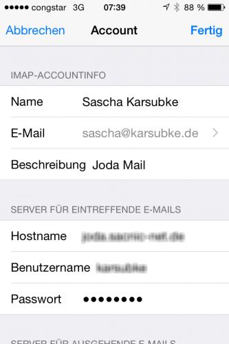 Mail-Identities iOS8 01