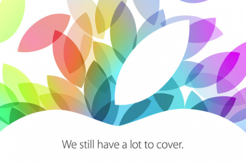 Apple Keynote 10/2013 Logo