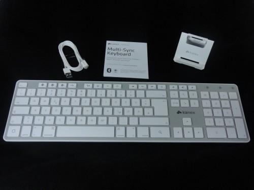 Kanex Keyboard - Lieferumfang1