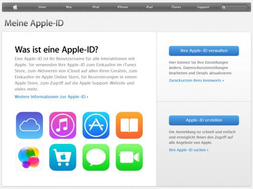 2FA - Apple ID verwalten