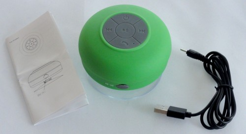 BT-Dusch-Lautsprecher - Header
