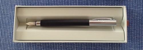 Füller und Notizbuch - Header
